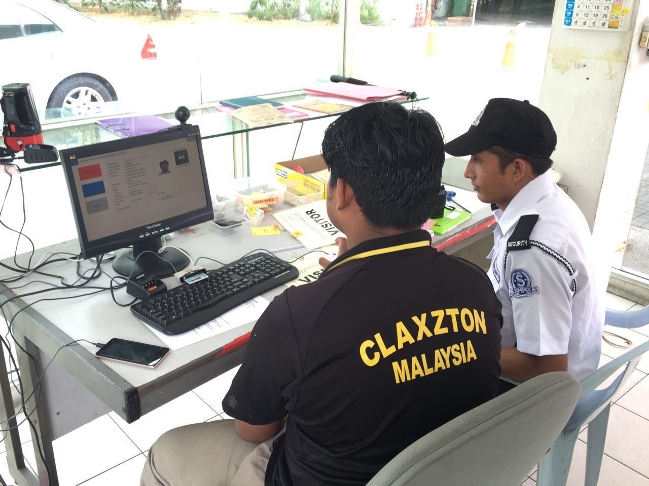 Visitor Management in Security Malaysia